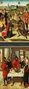 Last Supper Triptych, Left-Hand Panel by Dieric Bouts