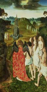 Paradise of the Symbolic Fountain by Dieric Bouts