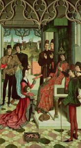 The Justice of the Emperor Otto: Trial by Fire, 1471-73 by Dieric Bouts