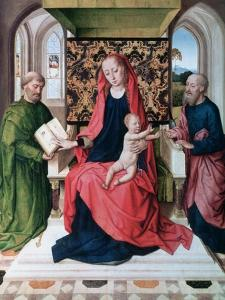 The Virgin and Child with Saints, 1460s by Dieric Bouts