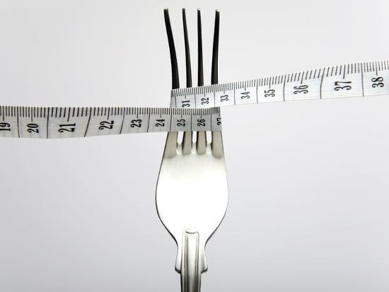 Dieting, Conceptual Image-Victor De Schwanberg-Photographic Print