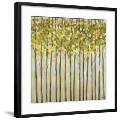 Different Shades of Green-Libby Smart-Framed Art Print