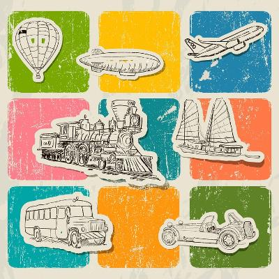Different Vehicles-yunna-Art Print