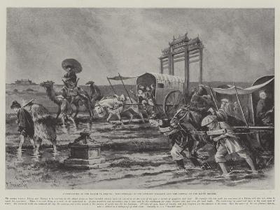 Difficulties of the March to Peking-Paul Frenzeny-Giclee Print