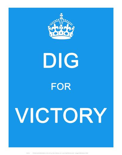 Dig for Victory--Art Print
