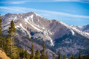 Colorado Rocky Mountains near Monarch Pass by digidreamgrafix
