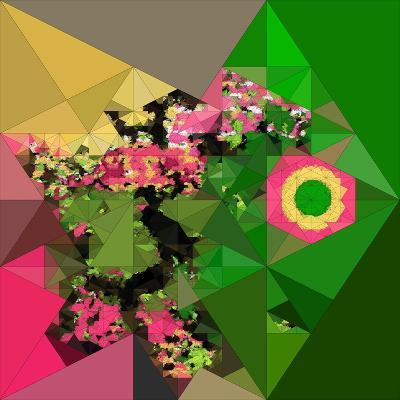 Digital Painting, Abstract Background-Andriy Zholudyev-Photographic Print