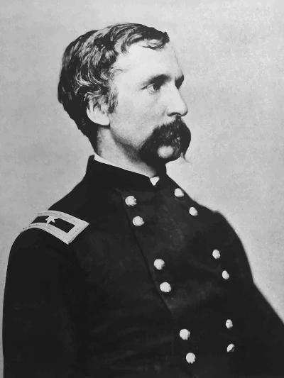 Digitally Restored Vector Portrait of Genral Joshua Lawrence Chamberlain-Stocktrek Images-Photographic Print