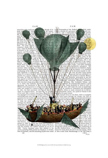 Diligenza Per La Luna-Fab Funky-Art Print