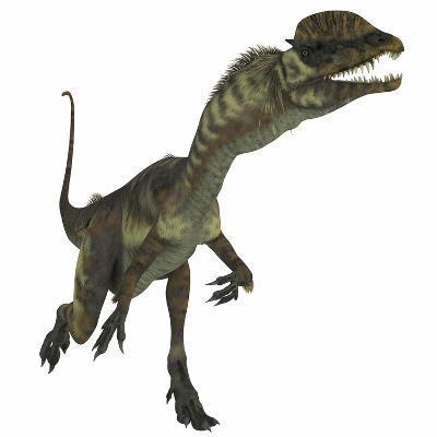Dilophosaurus Dinosaur-Stocktrek Images-Art Print
