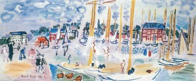 Dimanche a Deauvilie-Raoul Dufy-Art Print