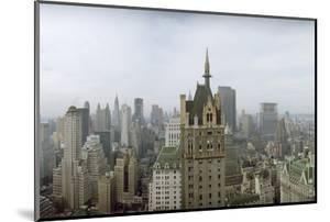 New York City Skyline Looking at Downtown from 5th Avenue and Central Park South by Dimitri Kessel