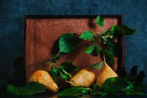 Autumn Still Life with Pears by Dina Belenko