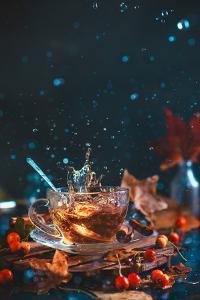 Autumn Teatime by Dina Belenko