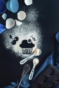 Baking Recipe: Cherry Muffin by Dina Belenko