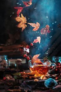 Briar Tea With Autumn Swirl by Dina Belenko