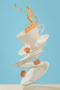Coffee For a Stage Magician by Dina Belenko