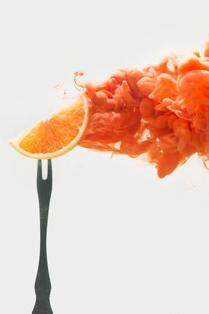 Disintegrated orange