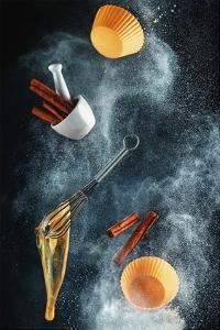 Kitchen Mess: Cinnamon Cupcake by Dina Belenko
