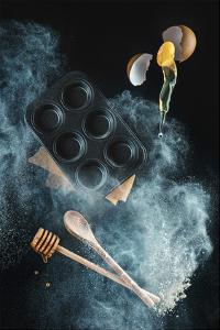 Kitchen Mess: Honey Muffins by Dina Belenko