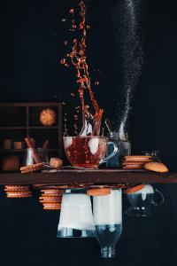 Upside and Down Again (With Coffee) by Dina Belenko
