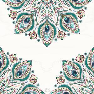 Bohemian Vibes Pattern VIIA by Dina June