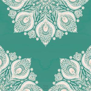 Bohemian Vibes Pattern VIIG by Dina June