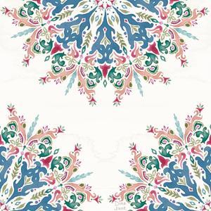 Bohemian Vibes Pattern VIIIA by Dina June