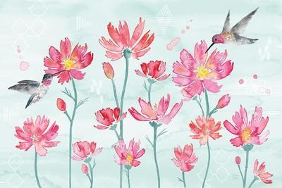 Flowers and Feathers I