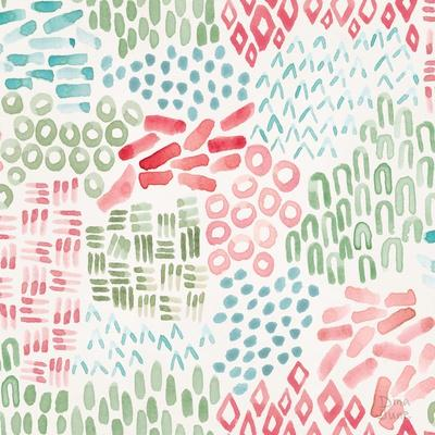 Flowers and Feathers Pattern IIIA