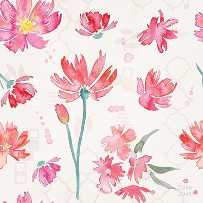 Flowers and Feathers Pattern IVA