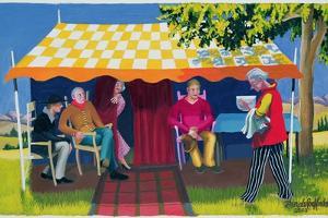 Abraham's Three Visitors, 2003 by Dinah Roe Kendall