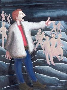 John the Baptist, 1999 by Dinah Roe Kendall