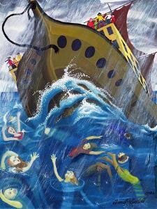 Noah's Boat at Sea, 2003 by Dinah Roe Kendall