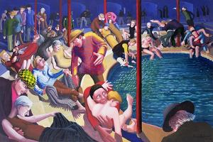 Pool of Bethesda, 2000 by Dinah Roe Kendall