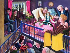 Raising of Jairus' Daughter, 2000 by Dinah Roe Kendall
