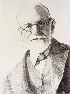 Sigmund Freud, 1994 by Dinah Roe Kendall