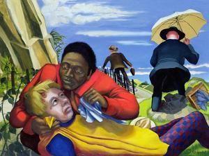 The Good Samaritan, 1994 by Dinah Roe Kendall