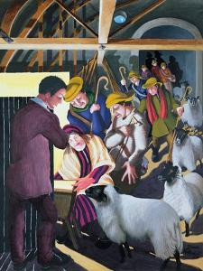 The Shepherds Went to See the Baby, 1998 by Dinah Roe Kendall