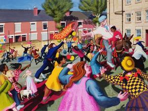 Triumphal Entry, 1997-98 by Dinah Roe Kendall