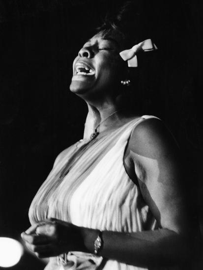 Dinah Washington-Maurice Sorrell-Photographic Print