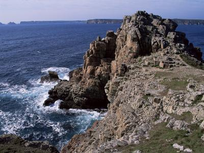 Dinan Point, Crozon Peninsula, Brittany, France-Guy Thouvenin-Photographic Print