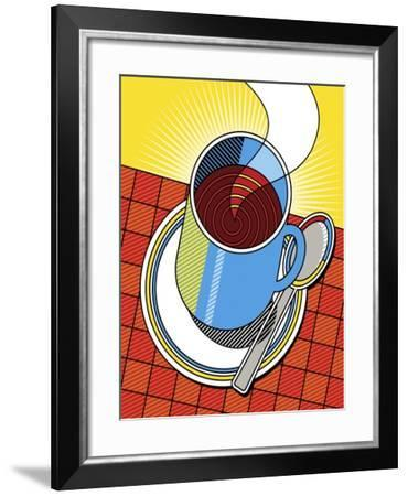 Diner Coffee-Ron Magnes-Framed Giclee Print