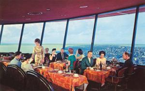 Diners in Space Needle, Seattle, Washington