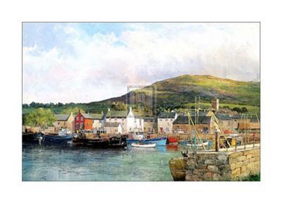 Dingle Harbour-Clive Madgwick-Art Print