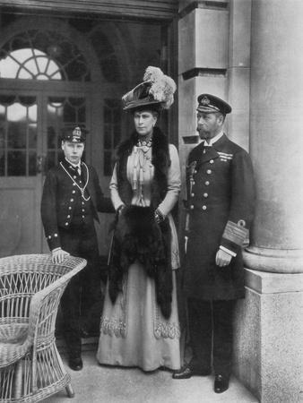 Our Sailor King, His Consort, and the Sailor Heir to the Throne, 1910