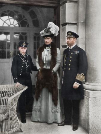 'Our Sailor King, His Consort, and the Sailor Heir to the Throne', 1910