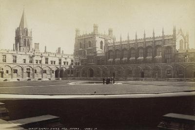 Dining Hall, Christ Church College, Oxford, Oxfordshire, Late 19th or Early 20th Century--Giclee Print