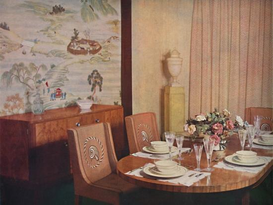 'Dining-room', 1940-Unknown-Photographic Print