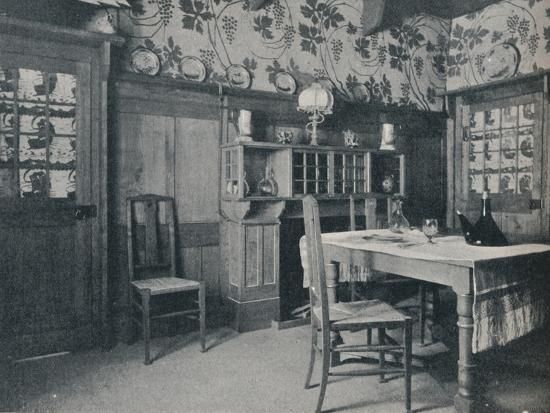 'Dining Room', c1902-Unknown-Photographic Print